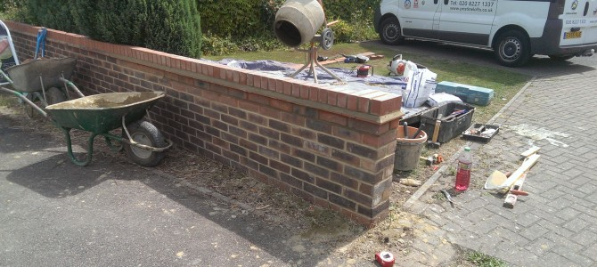 Brickwork Wall Repair